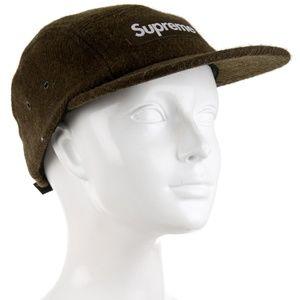 9d0d4197 Supreme Accessories - SUPREME ☀ Green Box Logo Harris Tweed Camp Cap Hat